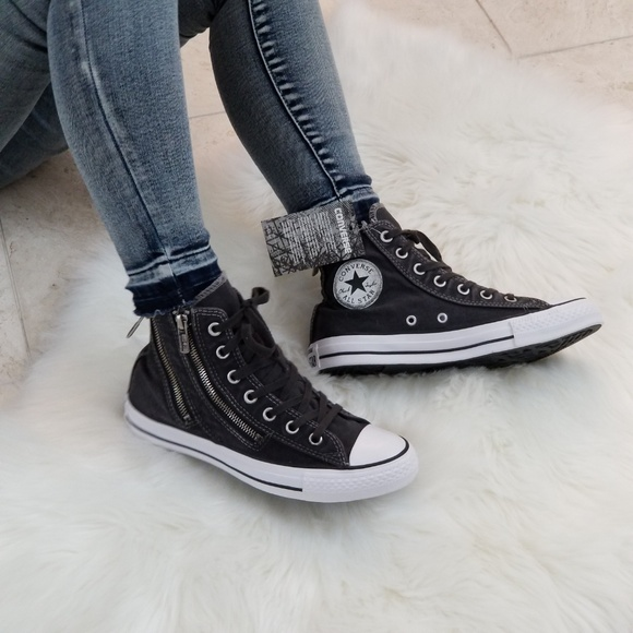 85ae435be272 Converse Shoes - Converse Chuck Taylor All Star Dual Zip Hi